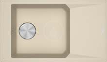 Franke FX Fragranitový dřez FXG 611-86, 860x500 mm, pískový melír 114.0540.927