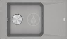 Franke FX Fragranitový dřez FXG 611-86, 860x500 mm, šedý kámen 114.0540.929