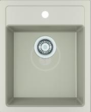 Franke Sirius Tectonitový dřez SID 610-40, 430x530 mm, kávová 114.0503.042