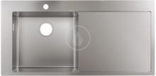 Hansgrohe Vestavný dřez S716-F450, nerezová ocel 43331800