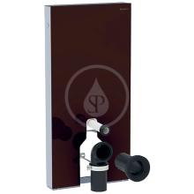 Geberit Sanitární modul pro stojící WC, 101cm, spodní přívod vody, hnědá 131.201.SQ.5