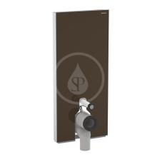 Geberit Sanitární modul pro stojící WC, 114 cm, spodní přívod vody, hnědá 131.233.SQ.5