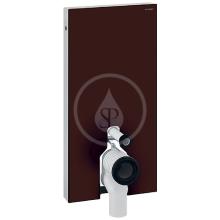 Geberit Monolith Sanitární modul pro stojící WC, 101 cm, boční přívod vody, hnědá 131.003.SQ.5