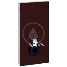 Geberit Monolith Sanitární modul pro závěsné WC, 101 cm, boční přívod vody, hnědá 131.022.SQ.5