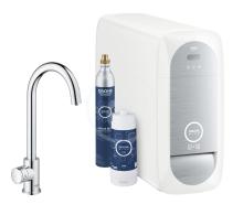 Grohe Blue Home Dřezový ventil Mono Connected, s chladícím zařízením a filtrací, chrom 31498001
