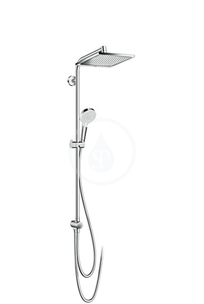 Sprchová souprava E 240 Showerpipe pro renovace EcoSmart, chrom