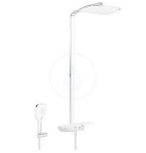 Hansa Sprchový set Wellfit s termostatem, 360x220 mm, bílá/chrom 5865017282