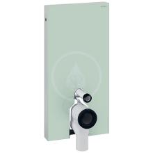 Geberit Monolith Sanitární modul pro stojící WC, 101 cm, boční přívod vody, mátově zelená 131.003.SL.5