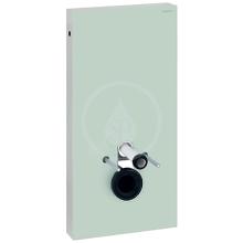 Geberit Monolith Sanitární modul pro závěsné WC, 101 cm, boční přívod vody, mátově zelená 131.022.SL.5