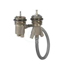 Axor Těleso pro dvouotvorový termostat pro montáž na okraj vany 15486180
