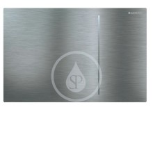 Geberit Sigma70 Ovládací tlačítko Sigma70, pro splachovací nádržku pod omítku Sigma 12 cm, kartáčovaná nerez 115.620.FW.1