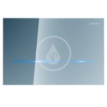 Geberit Sigma80 Elektronické ovládací tlačítko Sigma80, bezdotykové, pro 2 množství splachování, sklo zrcadlové 116.090.SM.1