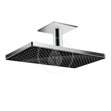 Horní sprcha 460 1jet se stropním připojením, černá/chrom