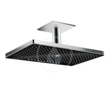 Horní sprcha 460 3jet se stropním připojením, černá/chrom