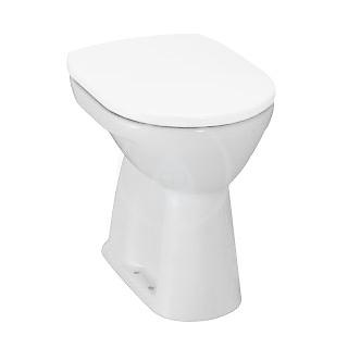 Stojící WC, 470x360 mm, s LCC, bílá