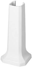 Sloup, 270 mm x 255 mm, bílý - sloup, s WonderGliss