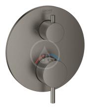 Grohe Termostatická baterie pod omítku pro 2 spotřebiče, kartáčovaný Hard Graphite 24135AL3