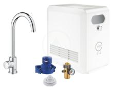 Grohe Blue Professional Dřezový ventil Mono s chladicím zařízením a filtrací, chrom 31302002