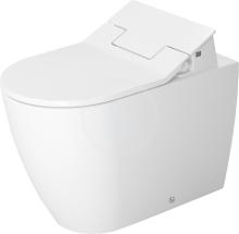 Duravit ME by Starck Stojící WC pro SensoWash, s HygieneGlaze, alpská bílá 2169592000