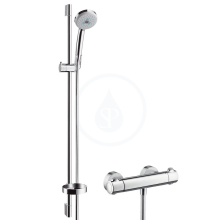 Hansgrohe Ecostat 1001 SL Sprchový set s termostatem, s ruční sprchou Croma 100 Multi 3jet, chrom 27085000