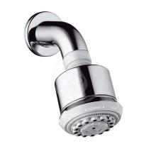 Hansgrohe Clubmaster Horní sprcha 3jet s ramenem sprchy, chrom 27475000