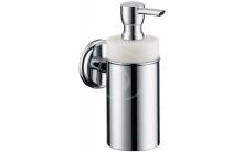 Dávkovač tekutého mýdla keramický, chrom