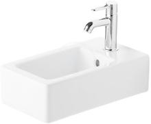 Jednootvorové umývátko s přepadem, 250mm x450mm, bílé
