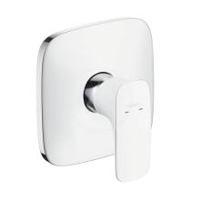 Páková sprchová baterie pod omítku, bílá/chrom