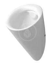 Urinál s cílovou muškou, 320 mm x 285 mm, bílá