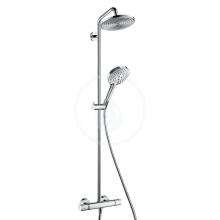 Hansgrohe Raindance S Sprchový set Showerpipe 240 s termostatem, EcoSmart 9 l/min, chrom 27116000
