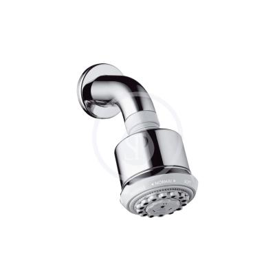 Horní sprcha se sprchovým ramenem 3jet, EcoSmart, chrom