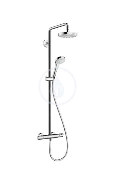 Sprchová souprava 180 2jet Showerpipe, bílá/chrom