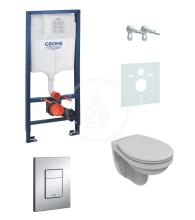 Grohe Rapid SL Sada pro závěsné WC + klozet a sedátko softclose Ideal Standard Quarzo 38528SET-KD
