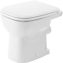 Stojící WC, s plochým splachováním, bílá