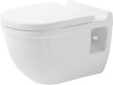 Duravit Starck 3 Závěsné WC Comfort, s WonderGliss, bílá 22150900001