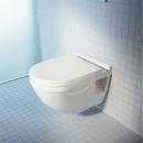 Závěsné WC Comfort, s WonderGliss, bílá