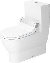 Duravit Starck 3 WC kombi mísa pro SensoWash, s WonderGliss, bílá 21415900001
