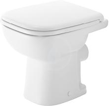 Stojící WC, bílá