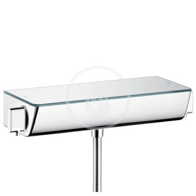 Sprchová baterie termostatická, bílá/chrom