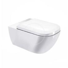 Duravit Happy D.2 Závěsné WC, s WonderGliss, bílá 22210900001