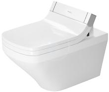 Duravit DuraStyle Závěsné WC pro SensoWash, s WonderGliss, bílá 25425900001