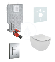 Grohe Uniset Sada pro závěsné WC + klozet a sedátko Ideal Standard Tesi 38643SET-KF