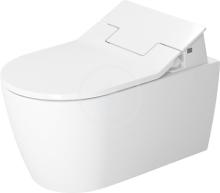 Duravit ME by Starck Závěsné WC pro SensoWash, s HygieneGlaze, alpská bílá 2528592000