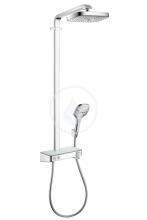 Hansgrohe Raindance Select E Sprchový set Showerpipe 300 s termostatem, 2 proudy, EcoSmart 9 l/min, chrom 27283000
