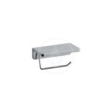 Laufen LB3 Držák toaletního papíru s poličkou, chrom H3836810040001