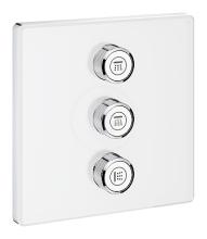 Grohe Grohtherm SmartControl Ventil pod omítku pro 3 spotřebiče, měsíční bílá 29158LS0