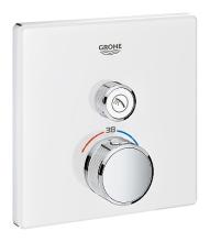 Grohe Grohtherm SmartControl Termostatická sprchová baterie pod omítku s 1 ventilem, měsíční bílá 29153LS0