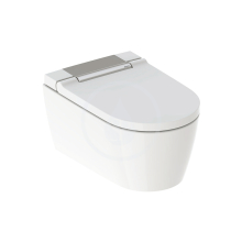 Geberit AquaClean Elektronický bidet Sela s keramikou, závěsný, lesklý chrom 146.222.21.1