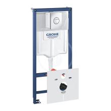 Grohe Rapid SL Předstěnový instalační set pro závěsné WC, výška 1,13 m, ovládací tlačítko Nova Cosmpolitan, chrom 38813001