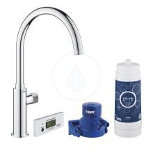 Grohe Blue Pure Set dřezového ventilu Mono s filtrací, chrom 30387000